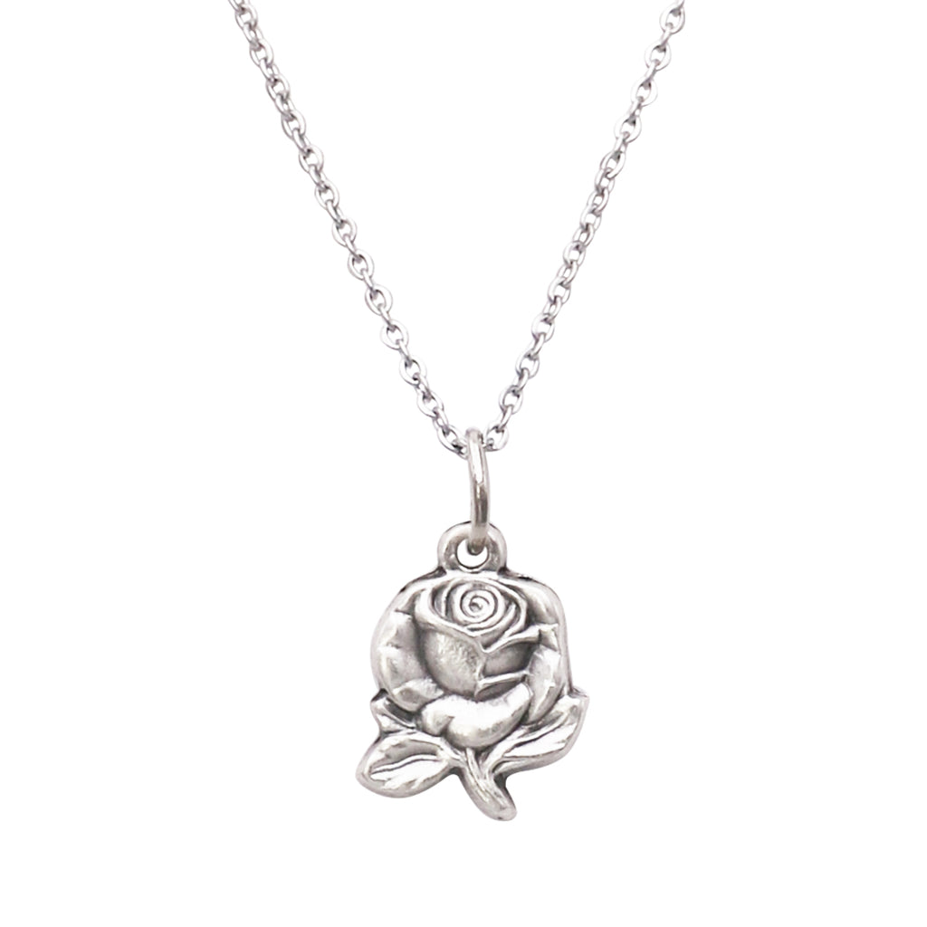 7591835946 Adjustable Religious Petite Rose Virgin Mary Pendant Necklace – Rosemarie  Collections