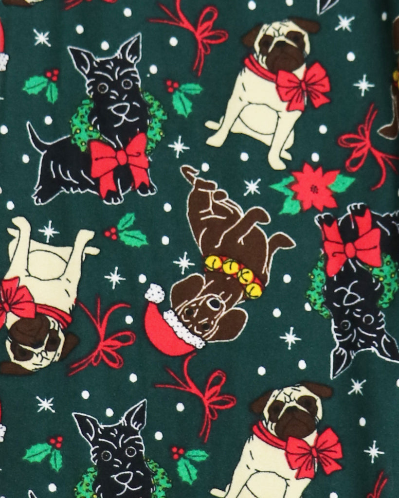 Holiday Novelty Sweet Christmas Dog Leggings