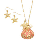 Women's Starfish and Sea Shell