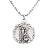 Rosemarie Collections St Michael Military Medal Pendant Necklace United States Army