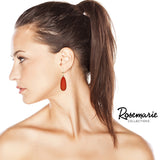 Stunning Hoop and Teardrop Statement Earrings