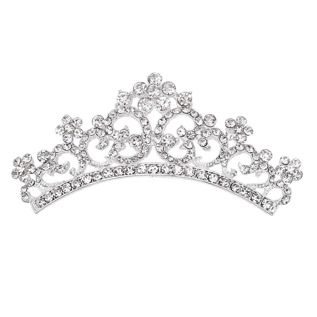 Crystal Birthday Crown Rhinestone 95 Years Old Birthday Party Tiara with Comb Gold Star Crown for Women