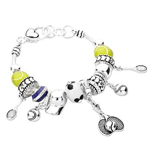 Tennis Anyone?  Style Bead Bracelet