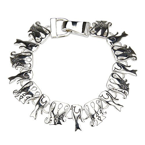 Kitten Cat Bracelet with Magnetic Closure