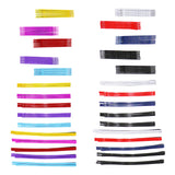 55 Piece Colorful Hair Clip Bobby Pins Barrette Hair Accessories (2 Sheet 110 Rainbow and Red White Blue)