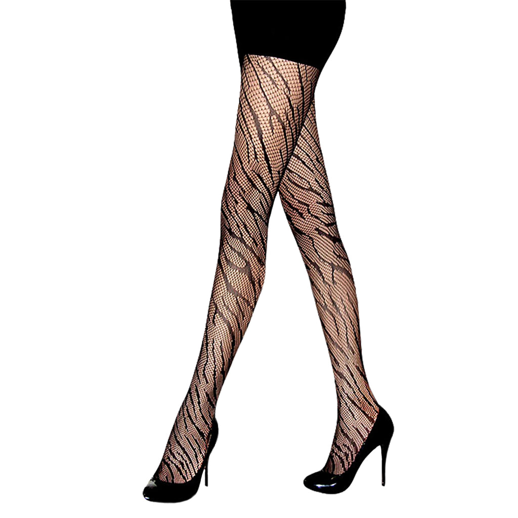 Women's Halloween Costume Animal Print Stockings Fishnet Tights