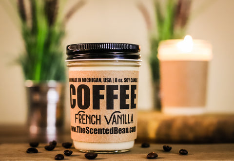 French Vanilla Coffee Soy Candle