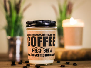 Special Offer - Fresh Brew Coffee Soy Candle