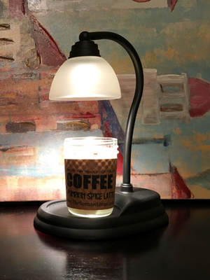 Candle Warmer - Black Aurora Lamp