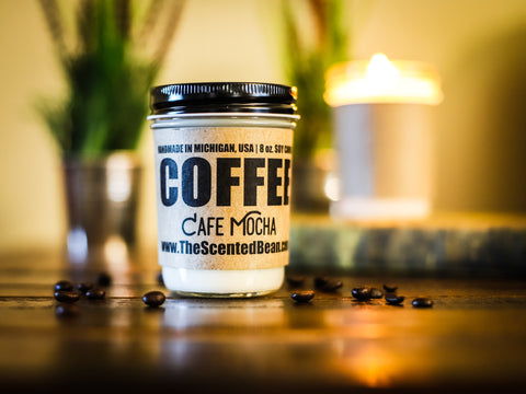 Cafe Mocha Coffee Soy Candle