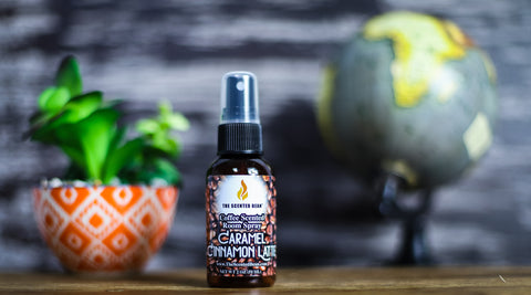 Caramel Cinnamon Latte Travel Room Spray
