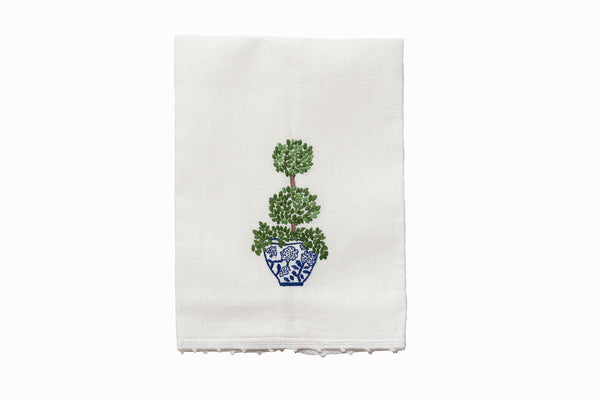 Grown Topiary  Hand Towel