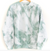 TIE-DYE ADULT SWEATSHIRT, GREEN a collaboration with The Avenue