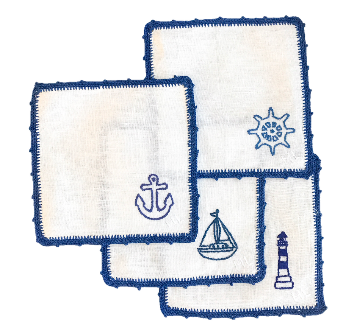 At Sea Cocktail Napkins (Pre-Order)