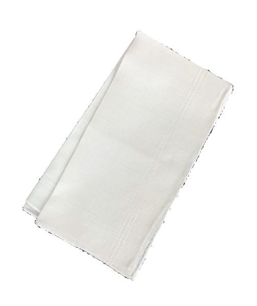 Colorful Handkerchief Collection: White