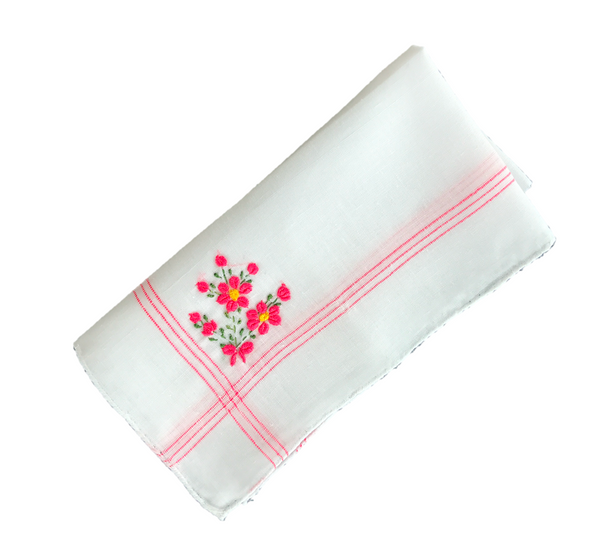 Colorful Handkerchief Collection: Rose
