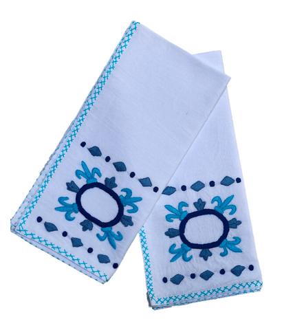 Lia Tile Dinner Napkins