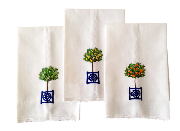 Topiary Hand Towel