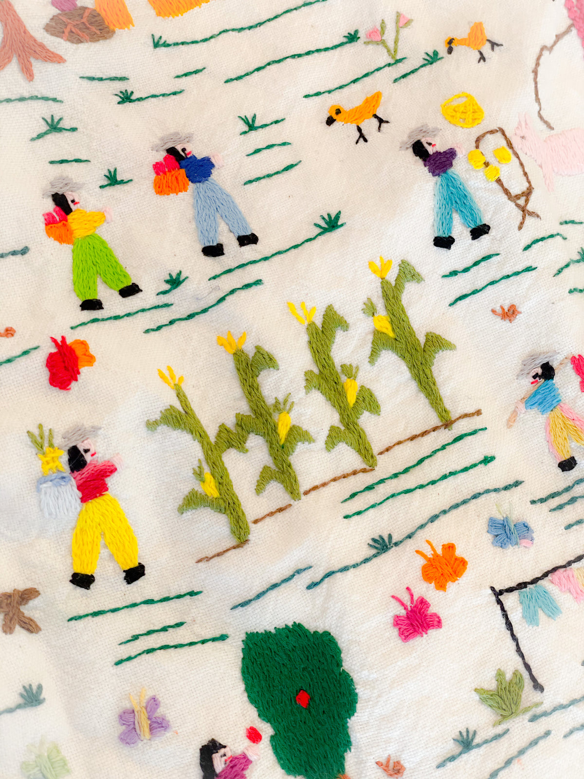 Sunday 03/21 Hand Embroidery Story Telling Class 2:00 - 4:00 CST - Zoom -