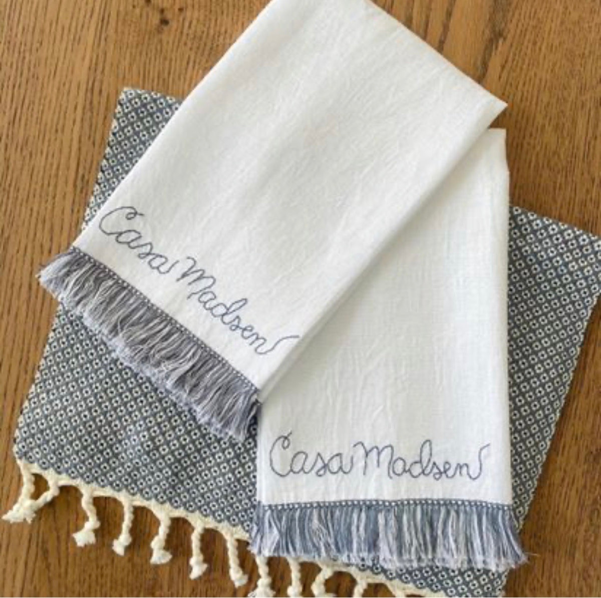 Casa Fringe Towels