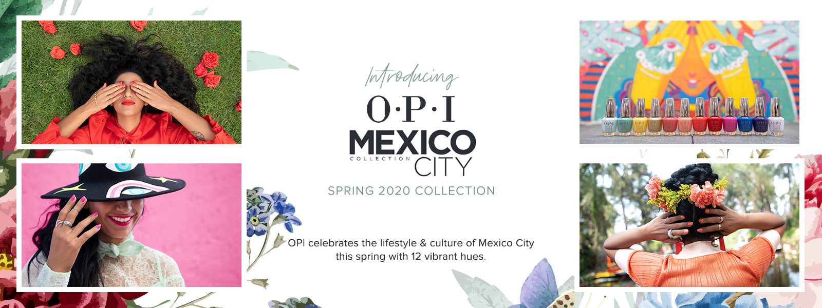 OPI Mexico City 2020 Nail Polish, Gel Polish