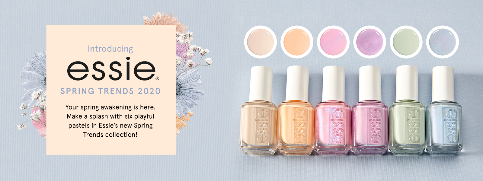 Essie Spring 2020 Collection - Essie Nail Polish