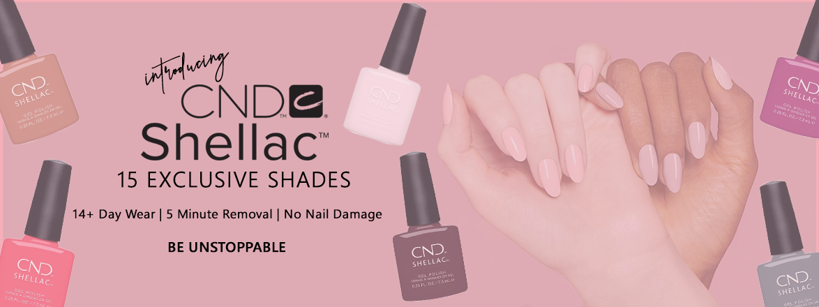 CND Shellac 15 Exclusive Shades | Beyond Polish