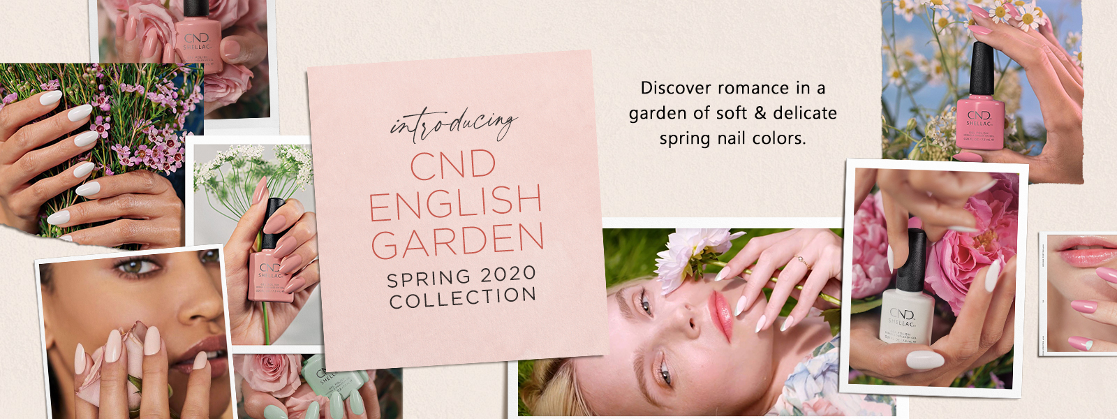 CND Spring 2020 English Garden Collection