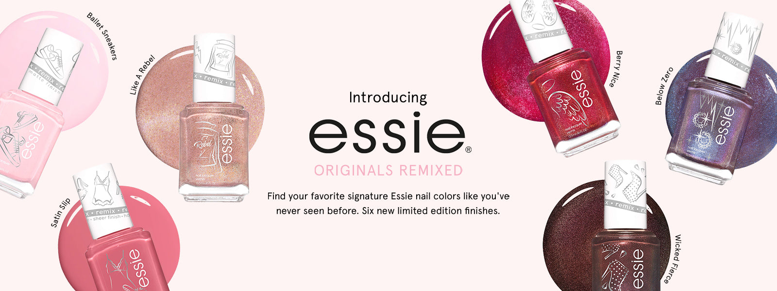 Essie Originals Remixed