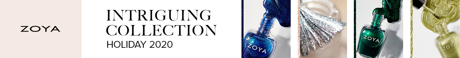 Zoya Intriguing Holiday 2020 Collection