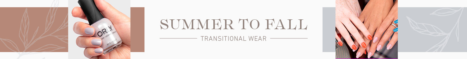 Transitional Wear - Summer to Fall