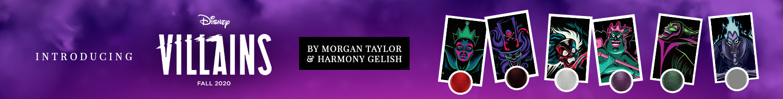 Gelish & Morgan Taylor Disney Villains Collection
