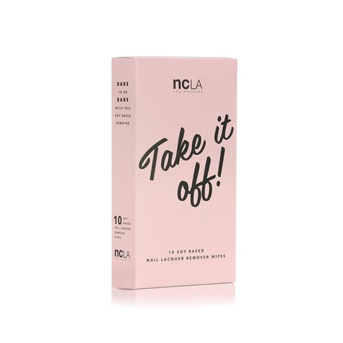 NCLA - Take It Off Nail Polish Remover Wipes