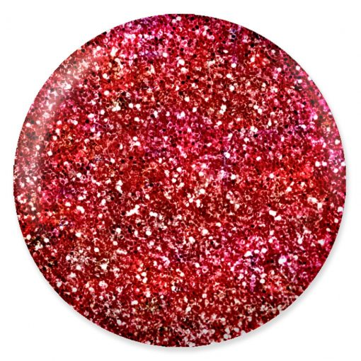 DND - DC Mermaid Collection - Sparkle Red 0.5 oz - #