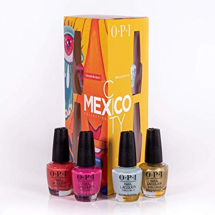 OPI Nail Lacquer - Mexico City Mini 4-Pack