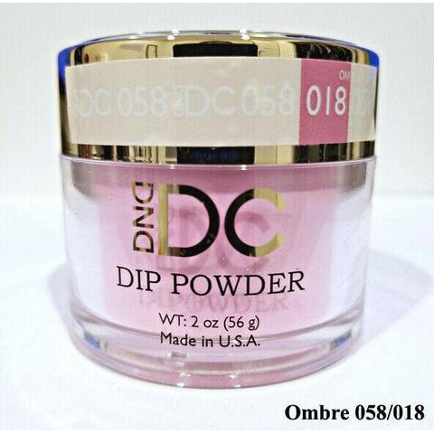 DND - DC Dip Powder - Aqua Pink 2 oz - #058