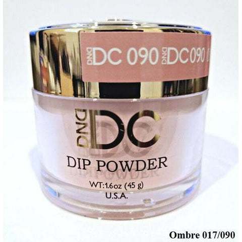 DND - DC Dip Powder - Ash Rose 2 oz - #090