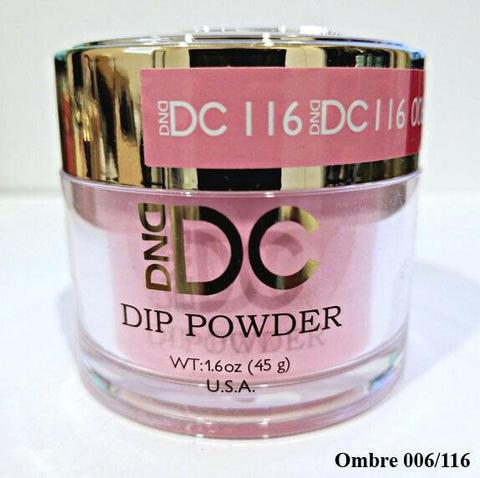 DND - DC Dip Powder - Blushing Face 2 oz - #116