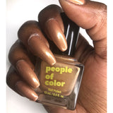 People Of Color Nail Lacquer - Brown Sugar Babe 0.5 oz