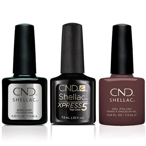 CND - Shellac Xpress5 Combo - Base, Top & Arrowhead (0.25 oz)