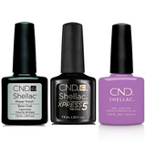 CND - Shellac Combo - Base, Top & Cuppa Joe