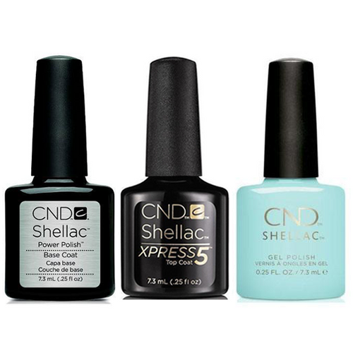 CND - Shellac Xpress5 Combo - Base, Top & Taffy (0.25 oz)