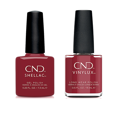 CND - Shellac & Vinylux Combo - Cherry Apple