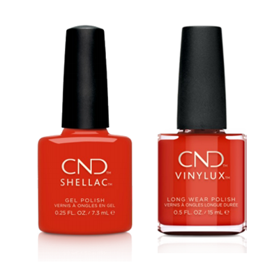 CND - Shellac & Vinylux Combo - Hot Or Knot