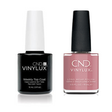 CND - Vinylux Topcoat & Fuji Love 0.5 oz - #361