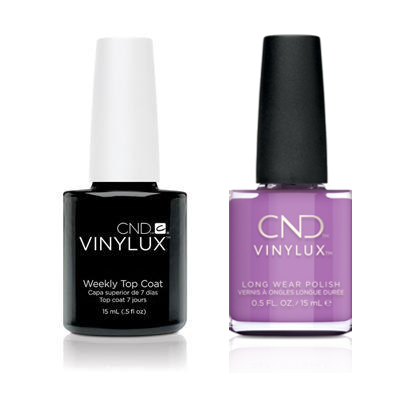 CND - Vinylux Topcoat & It's Now Oar Never 0.5 oz - #355