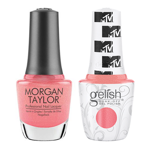 Gelish & Morgan Taylor Combo - Show Up & Glow Up