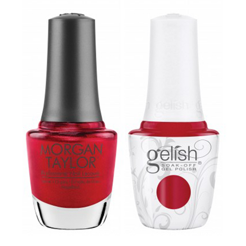 Gelish & Morgan Taylor Combo - Just One Bite