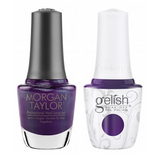Gelish & Morgan Taylor Combo - Make 'Em Squirm