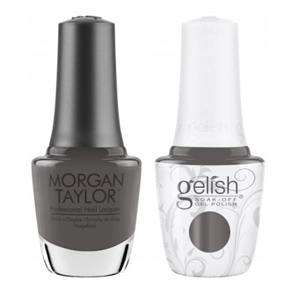 Gelish & Morgan Taylor Combo - Smoke The Competition